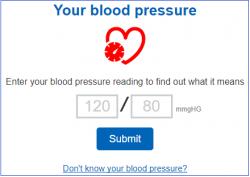 Kinetik onlie blood pressure tool
