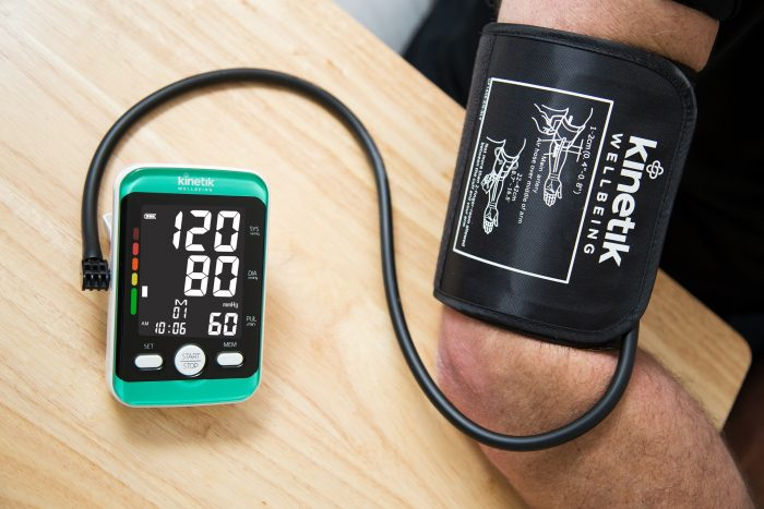 check your blood pressure regularly with a Kinetik blood pressure monitor