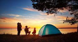 Camping great outdoors fun