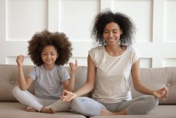 Mum Daughter Yoga