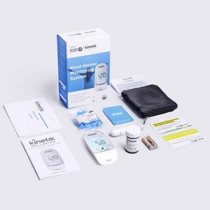 Blood Glucose Monitoring System + Kinetik Wellbeing
