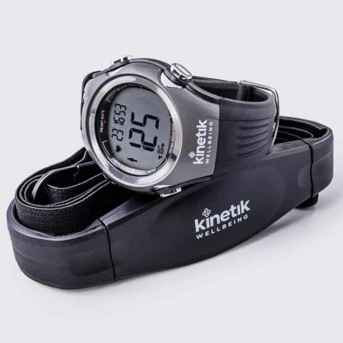 Eart Rate Monitor Watch &Amp; Strap + Kinetik Wellbeing