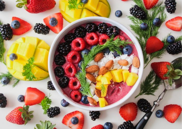 colourful fruit and vegetables to eat in pregnancy