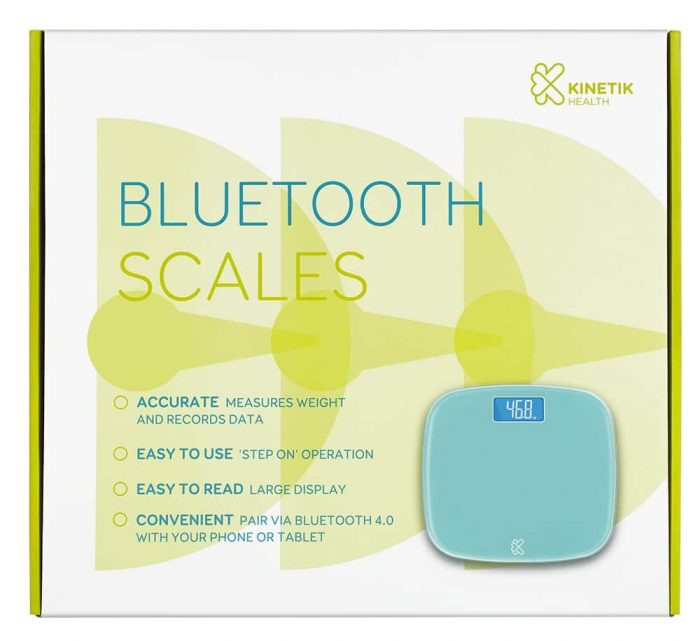 Bluetooth Scales Front | Kinetik Wellbeing