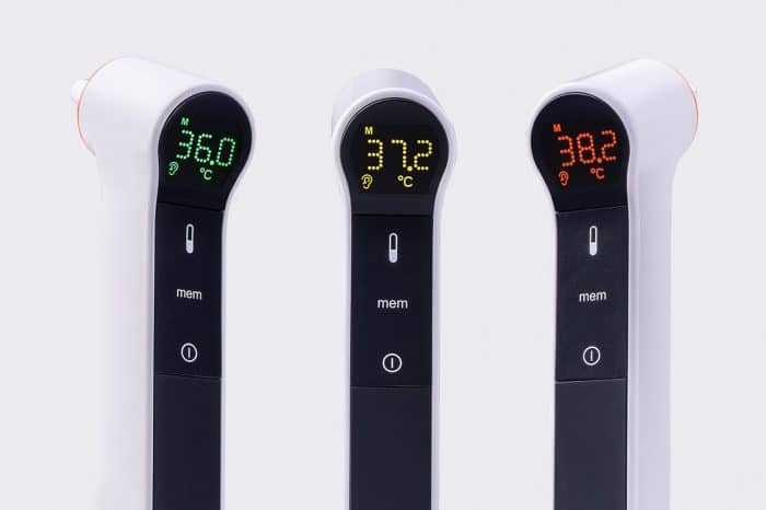 Kinetik Ear and Forehead Thermometer