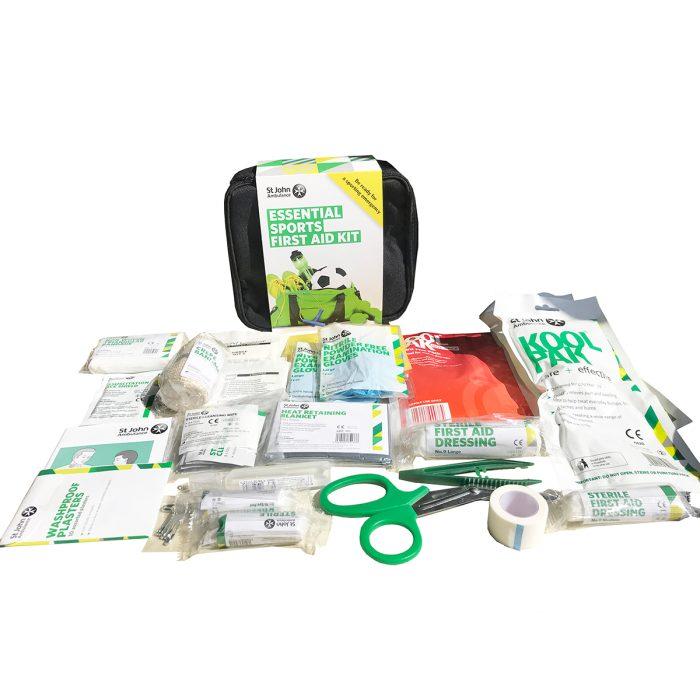 Essential Sports First Aid Kit Inside