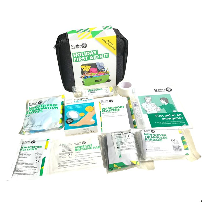 Holiday First Aid Kit Inside