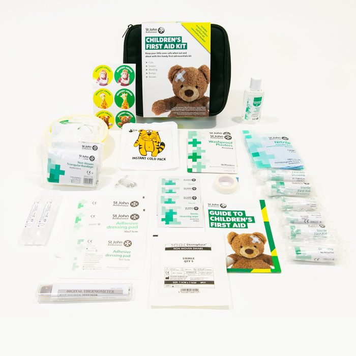 Childrens First Aid Kit Inside
