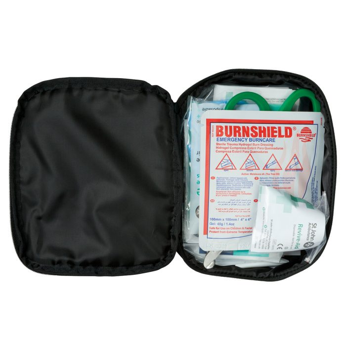 Small Motor Vehicle First Aid Kit Inside