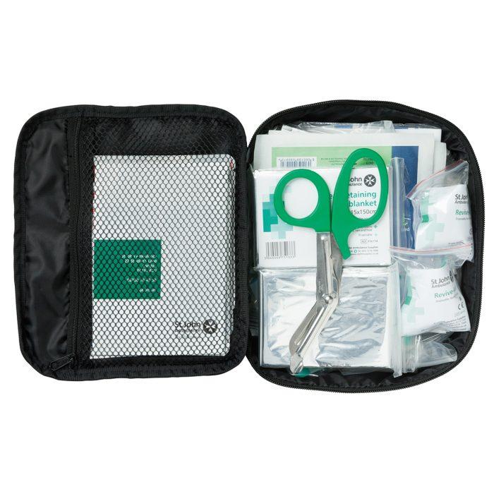 Large Motor Vehicle First Aid Kit Interior